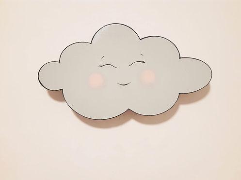גוף תאורה ענן מחייך תורכיז בהיר