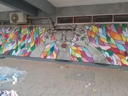 ציור קיר משותף