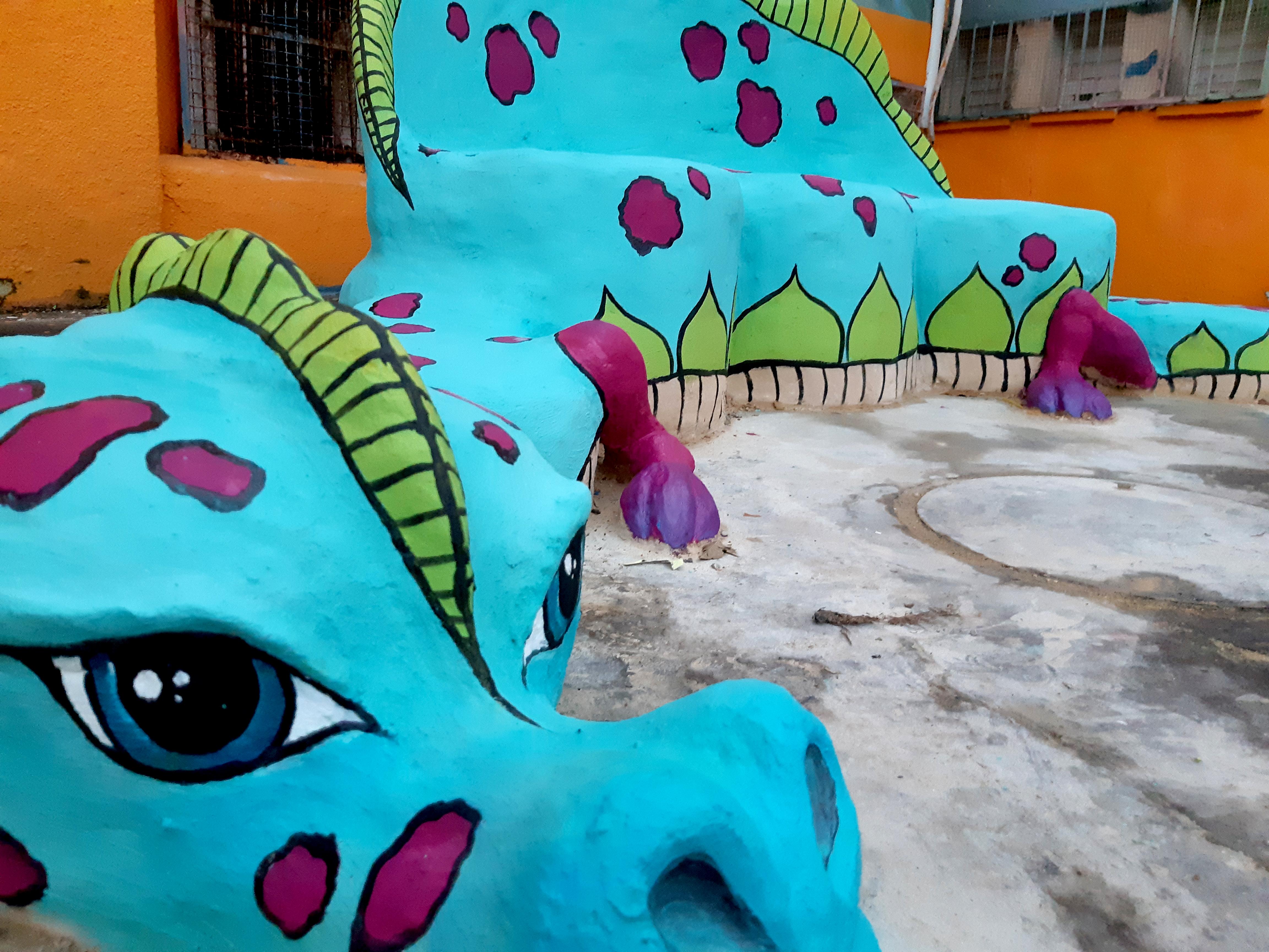 פסל דרקון