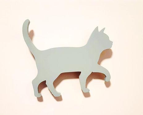 גוף תאורה חתול תורכיז בהיר