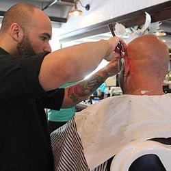 Straight razor work by Kyle