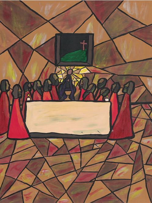 Institution of the Eucharist (Luminous 5)