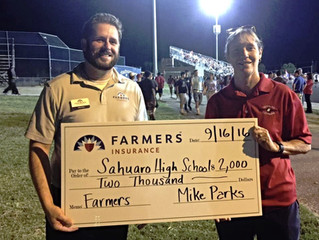 Farmers Insurance Helping Local Tucson School