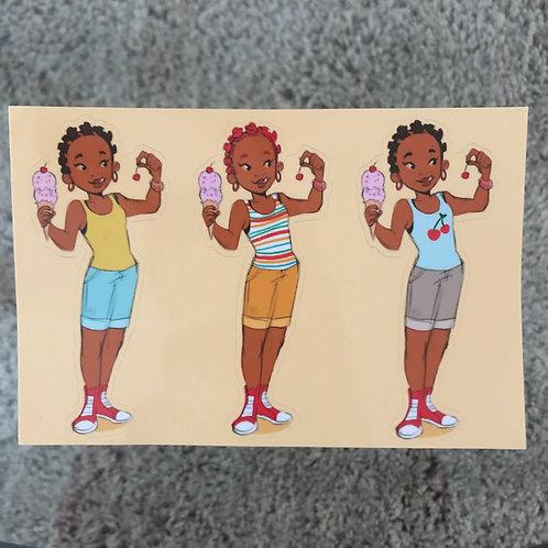 Cherry Garcia (Sticker Sheet)