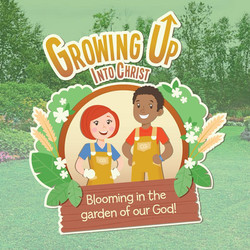 Growing Up Into Christ VBS Logo