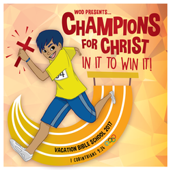 Champions For Christ VBS Logo