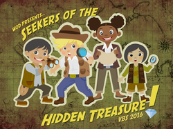 Seekers of the Hidden Treasure Logo