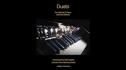 Duets for Clarinet & Piano (Clarinet & Piano Scores)