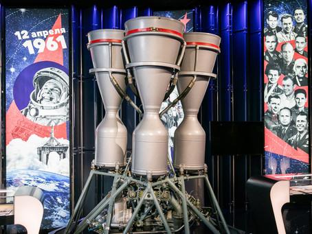 Виртуальный визит в московский Музей космонавтики