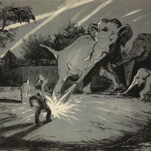 """«Животные на войне в произведениях художников Государственного          Дарвиновского музея» / « Les animaux durant la guerre dans les œuvres des artistes du Musée Darwin » / """"Animals at War in the Works of the State Darwin Museum Artists"""""""
