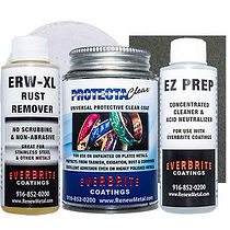 Stainless Steel Restoration Kit with Rust Remover and Neutralizer