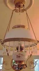 Glass and Brass antique light after restoration. Brass restored with ProtectaClear