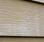 Siding too damaged to restore - siding down to bare metal