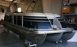 Pontoon Boat Restored with ProtectaClear