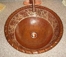 Prevent Copper Sink Tarnish