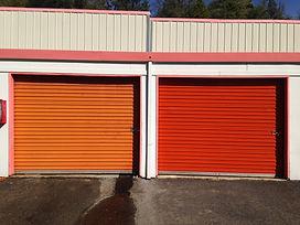 Restored Storage Doors