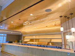 Brass Ceiling Tiles Restored with ProtectaClear