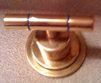 Brass Restored with ProtectaClear