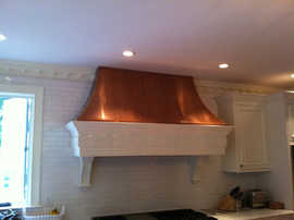 Copper Hood Restored with ProtectaClear