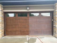 Garage Doors Restored with Everbrite