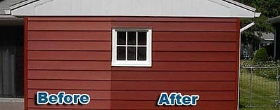 Restored Home Siding