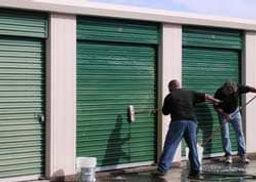 Restore Storage Door Paint