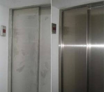 Restored Stainless Steel Elevator