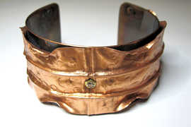 Copper Jewelry Restored with ProtectaClear