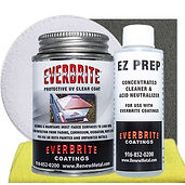 Buy Everbrite Kits with Cleaners to clean and restore siding and other painted surfaces