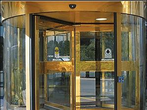 Restored Brass Doors