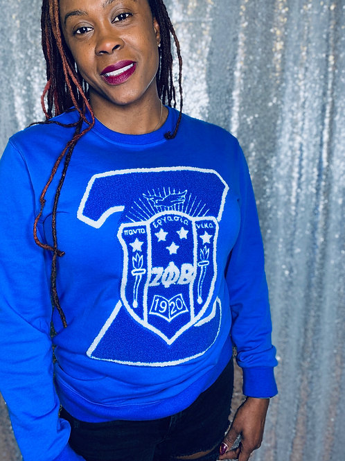 Zeta & Shield Sweatshirt