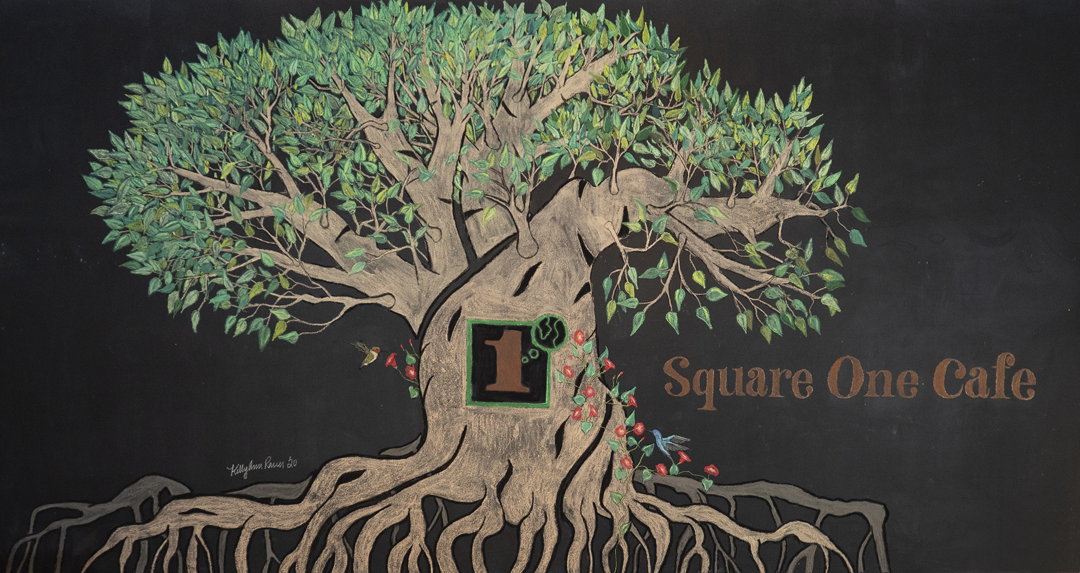 Square One Cafe Mural