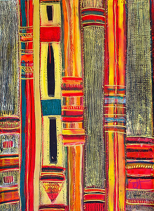 Ghana Strip Cloth