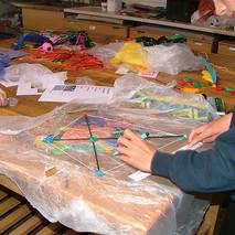 Year 8 Kite making
