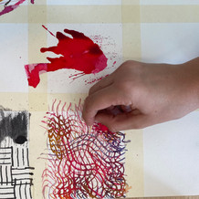 Mark-making techniques