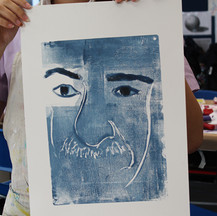 Year 8 monotypes