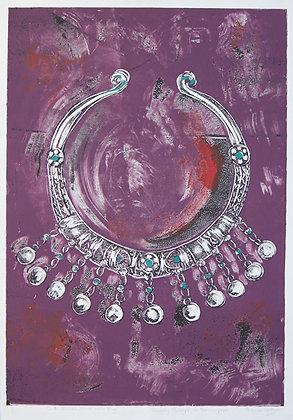 Sindh, Pakistan, Silver Neck Ring