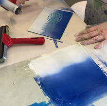 Linoprinting Speedball inks