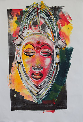 Mask, Gabon