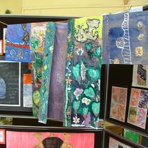 Japanese Art Display, World Cultures KS3