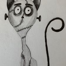 Tim Burton drawing challenge