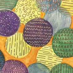 Pattern Watercolour techniques