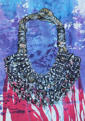 Oman Silver Manthura Necklace