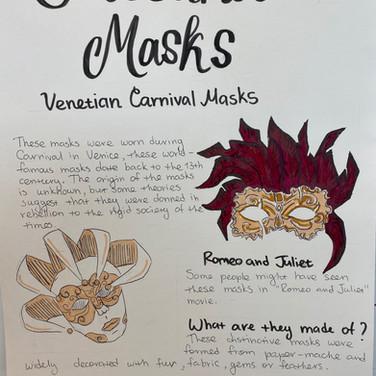 Cultural masks research