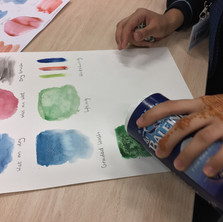 Watercolour effects