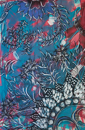Nadji Oasis & Floral Motif