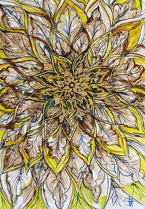 Deruta Flower
