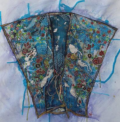 Boho Blue Floral