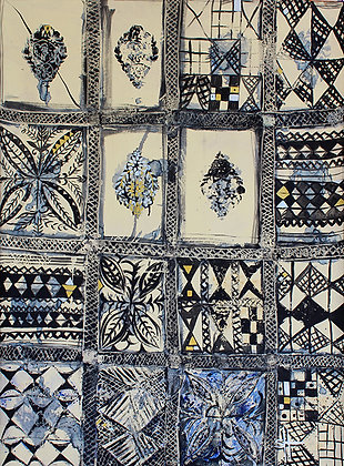 Polynesia Bark Cloth