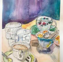 Teacups & jugs